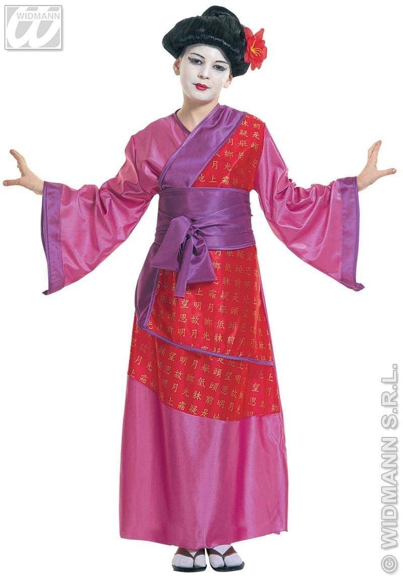 China Girl Child Costume Fancy Dress Costume (Oriental)