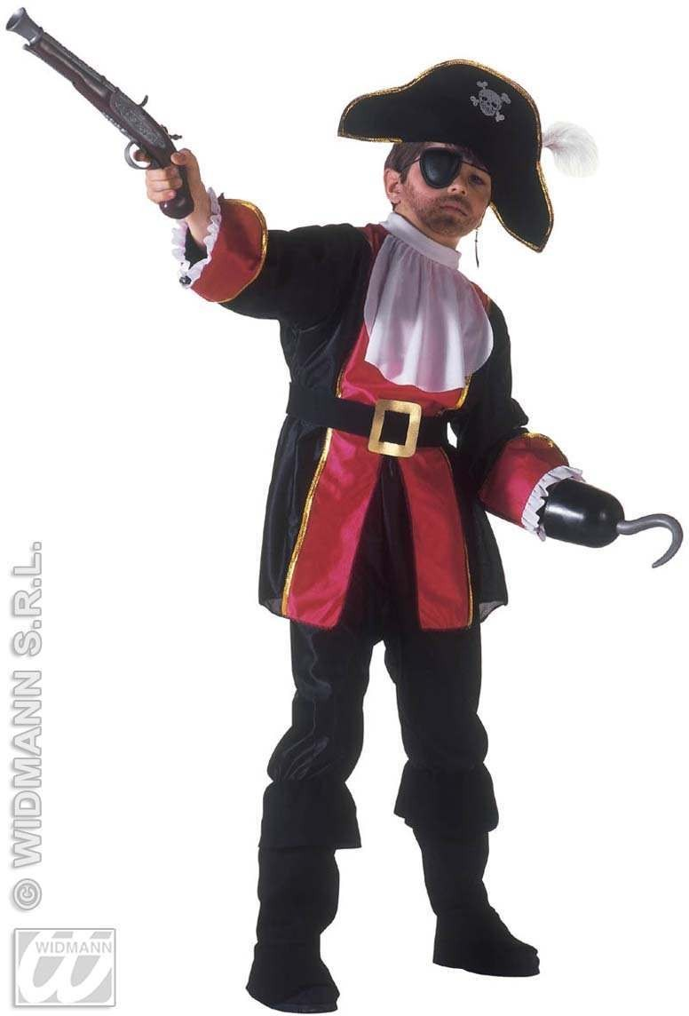 Great Captain Costume Child Fancy Dress Costume Boys (Pirates)