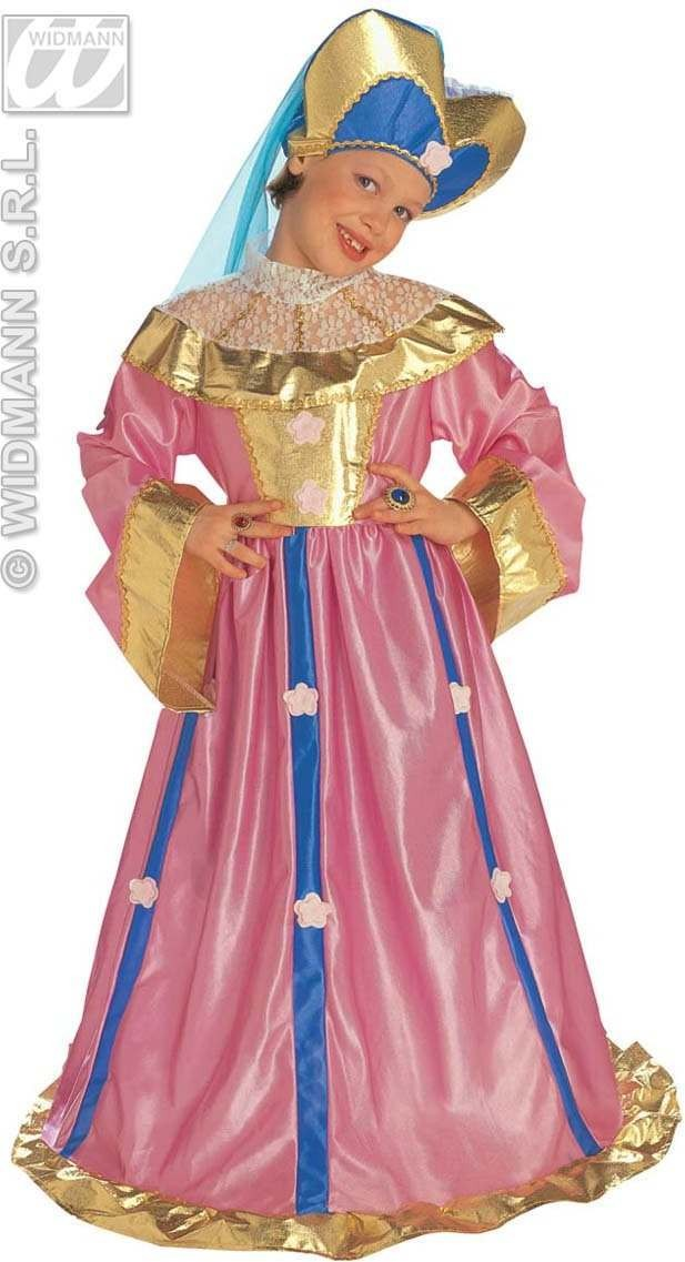 Pink Princess Child Costume Deluxe Costume Girls (Royalty)