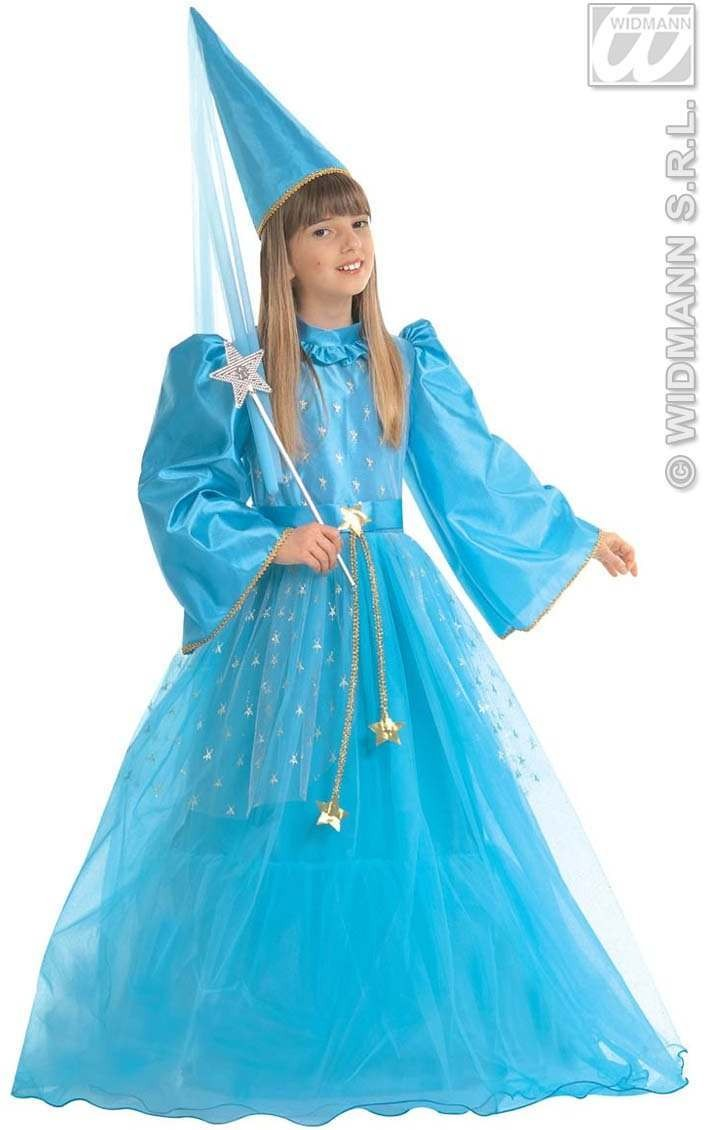 Magic Fairy Blue Costume Child 128Cm Costume Girls (Fairy Tales)