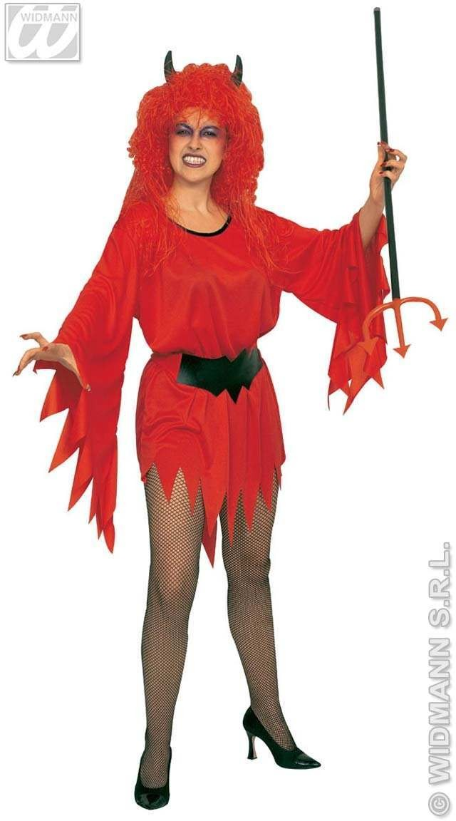Lady Devil Adult Fancy Dress Costume Ladies (Halloween)