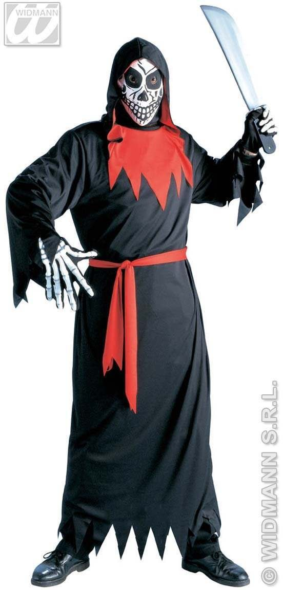 Evil Phantom Adult Fancy Dress Costume Mens (Halloween)
