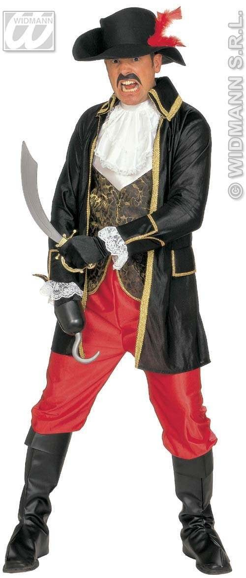Buccaneer Adult Fancy Dress Costume Mens (Pirates)