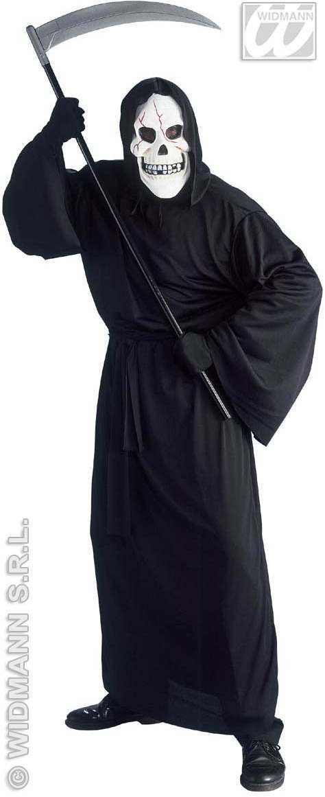 Bloody Death Costume Adult Robe/Mask Costume Mens (Halloween)
