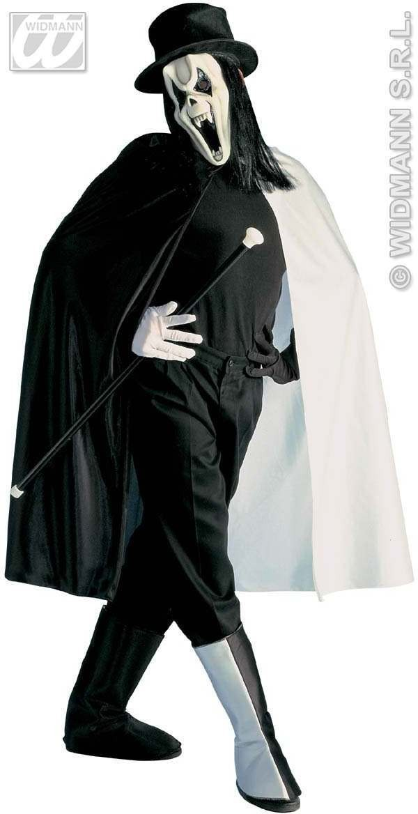 Rock Ghost Costume Costume Mens Size 42-44 L (Halloween)