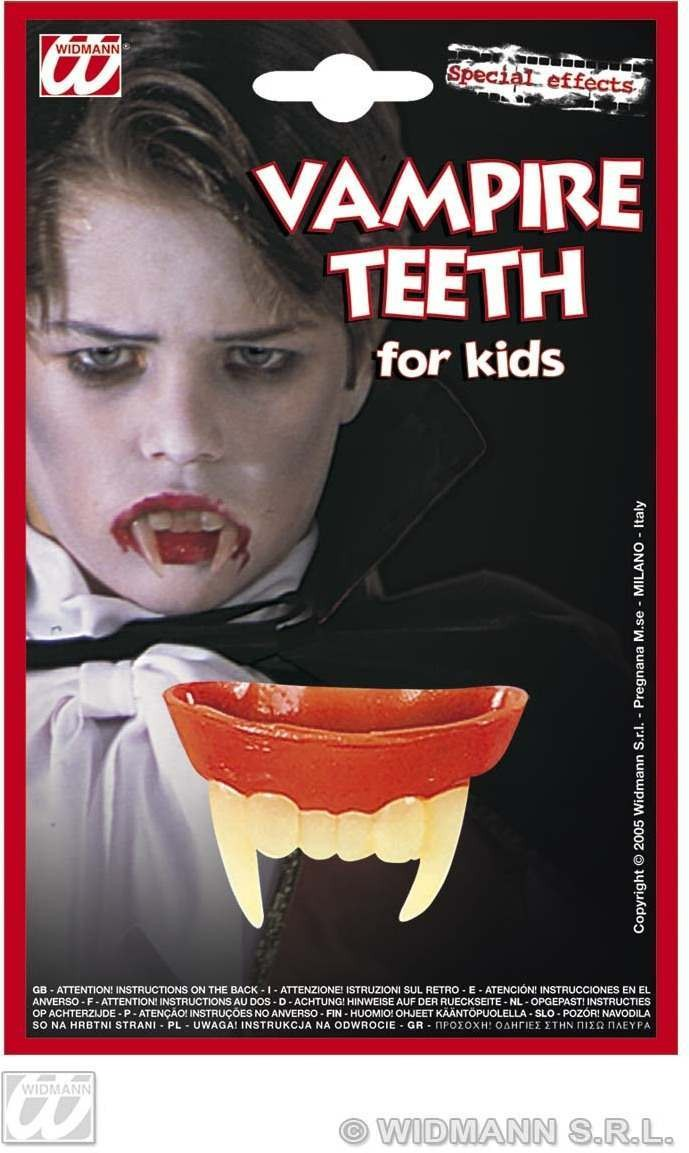 Vampire Teeth For Kids - Fancy Dress (Halloween)