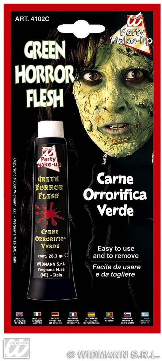 Horror Flesh Tube Green - Fancy Dress (Halloween)