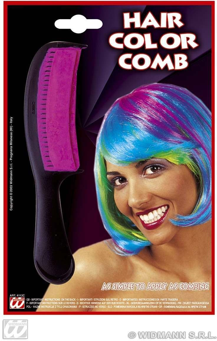 Hair Colour Comb 4 Col Asstd - Fancy Dress