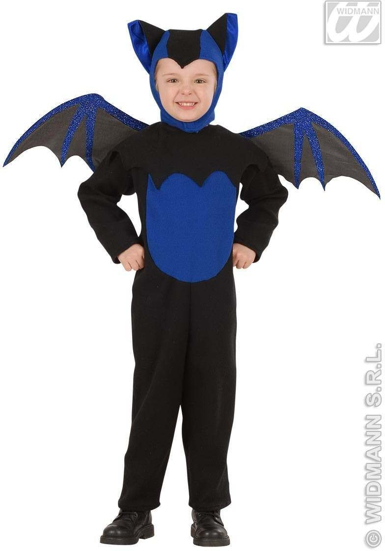 Bat Costume Child 4-5 Fancy Dress Costume Boys (Halloween)