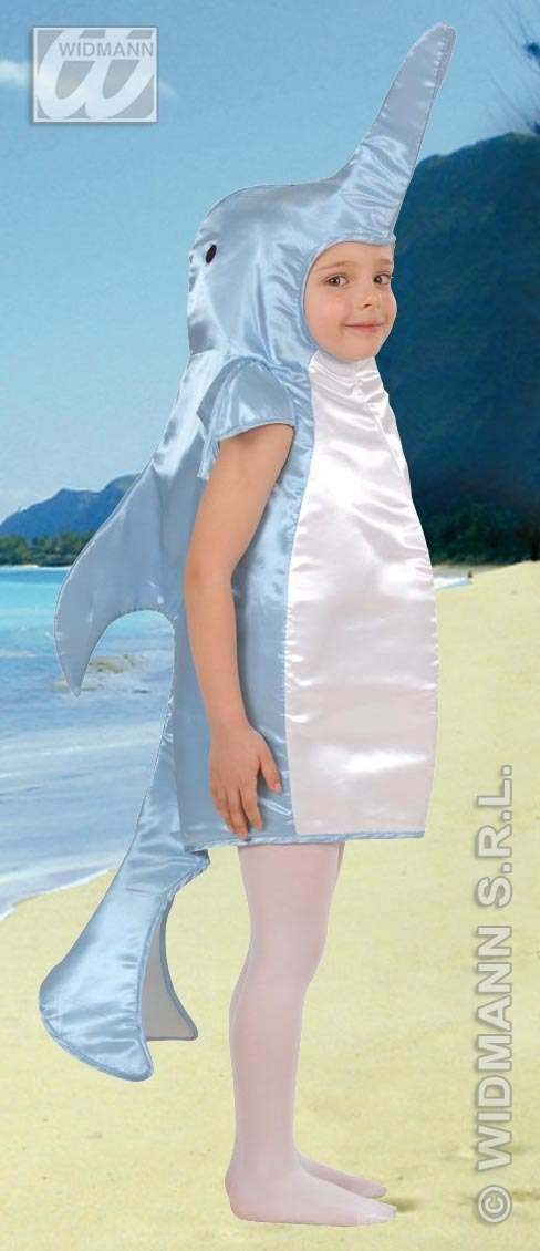 Dolphin Costume Child 4-5 Fancy Dress Costume (Animals)