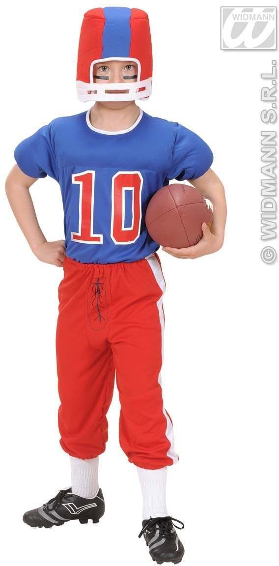 American Football Player Child Costume Boys (Sport)