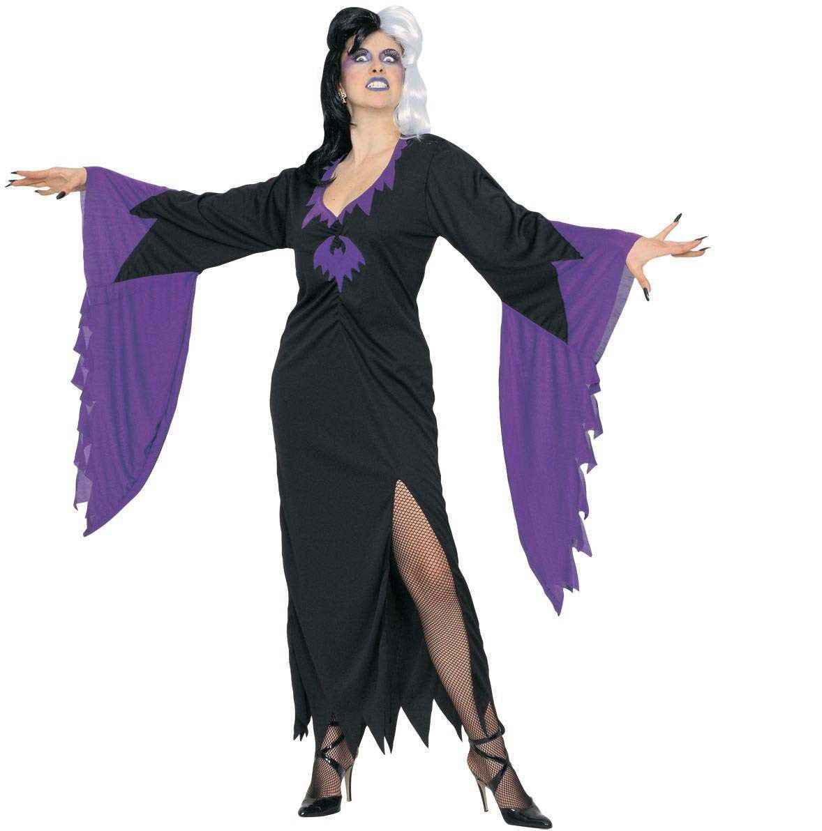 Xxl Mortisia Fancy Dress Costume (Halloween)