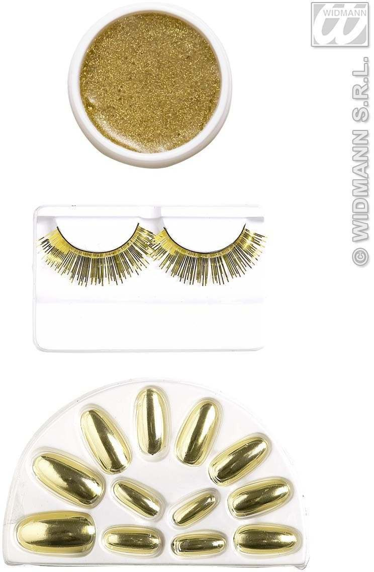Makeup Set - Gold - Fancy Dress