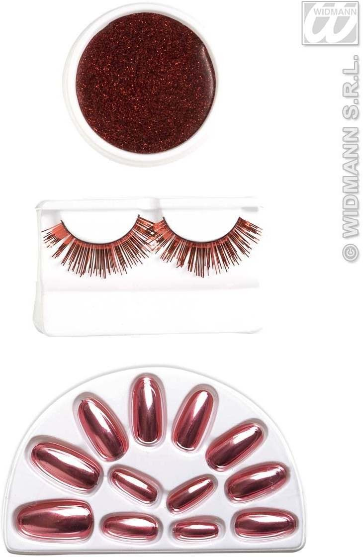 Makeup Set - Red - Fancy Dress