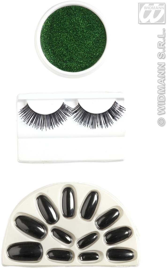 Makeup Set - Green - Fancy Dress