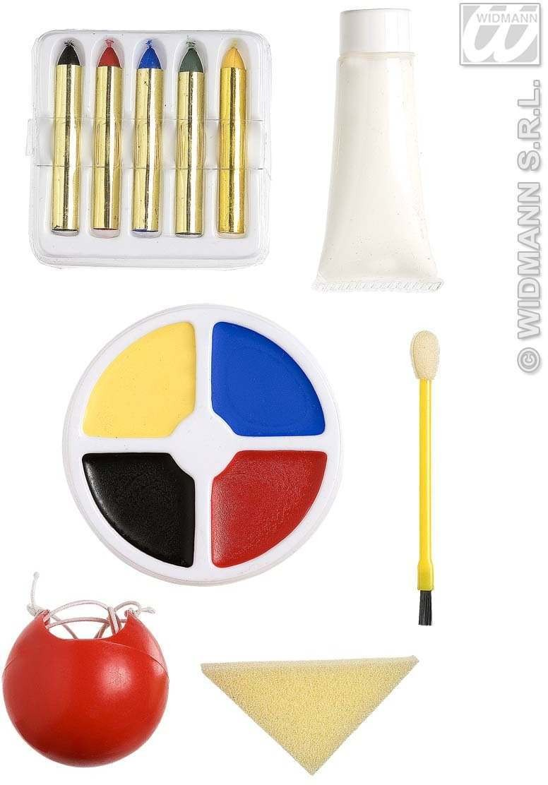 Clown Make - Up Set - Fancy Dress (Clowns)