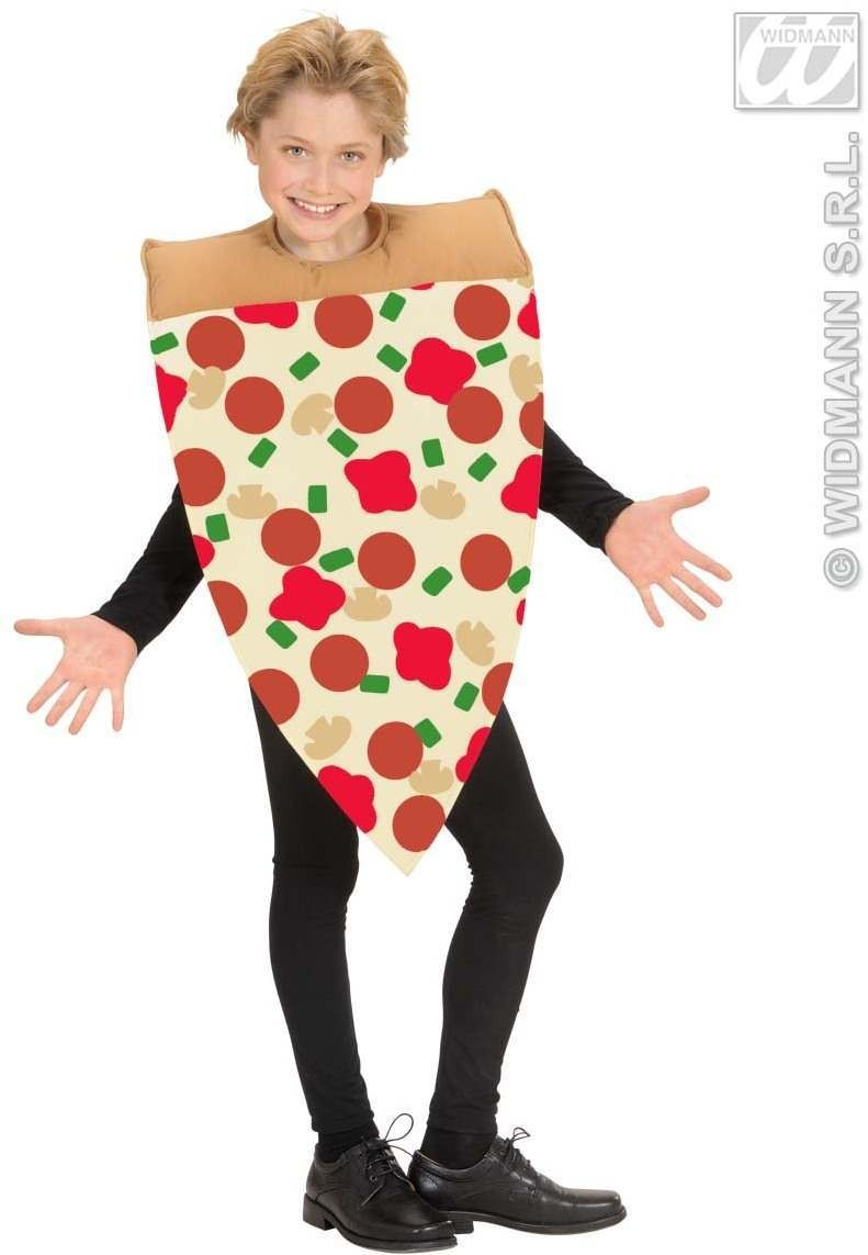 Slice Of Pizza Costume - Child Size Fancy Dress Costume (Food)