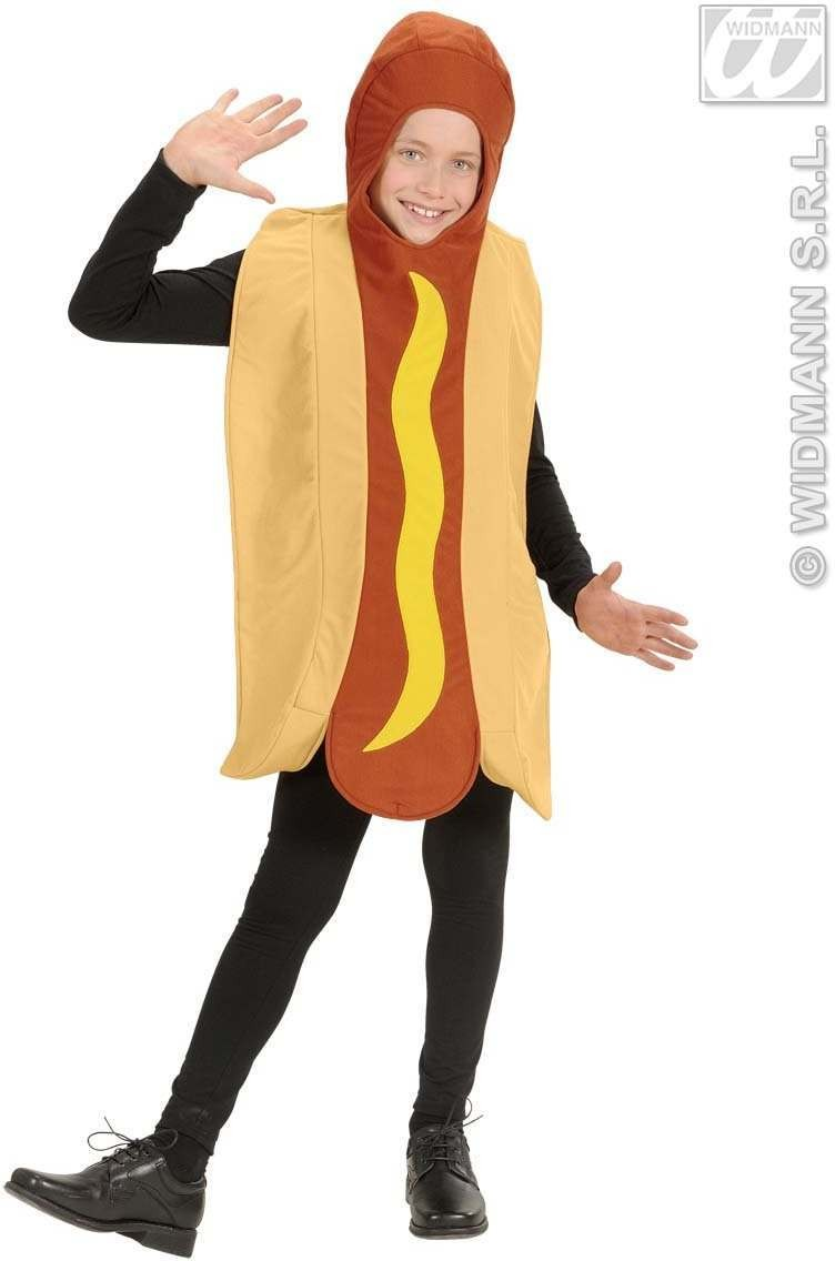 Hotdog Costume - Child Size Fancy Dress Costume (Food)