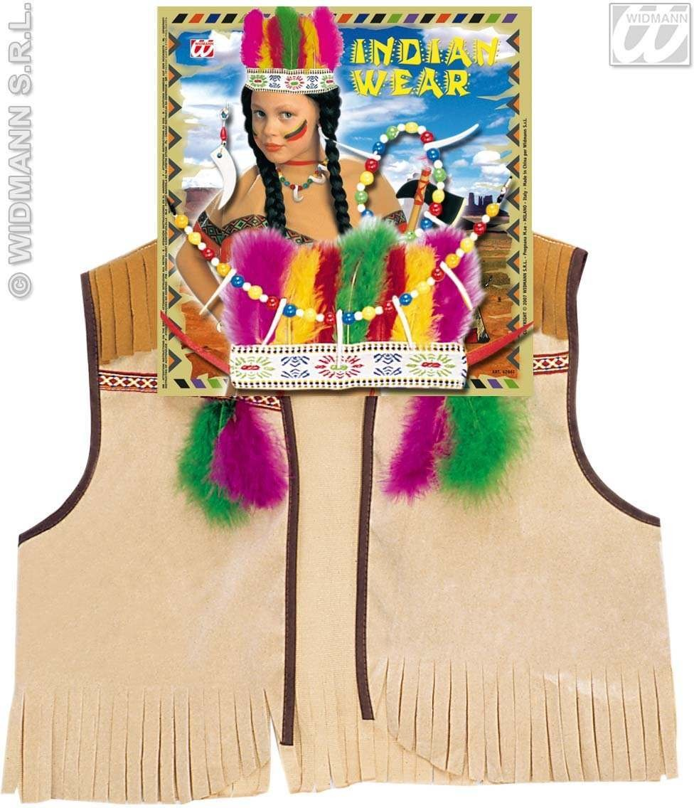 Indian Dress Up Set Childs Fancy Dress Costume (Cowboys/Indians)