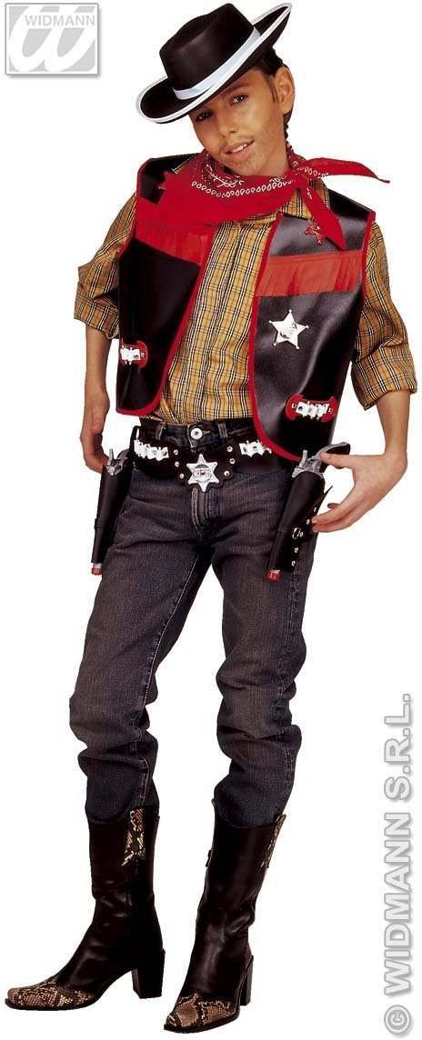 Cowboy Dress Up Set Fancy Dress Costume (Cowboys/Indians)