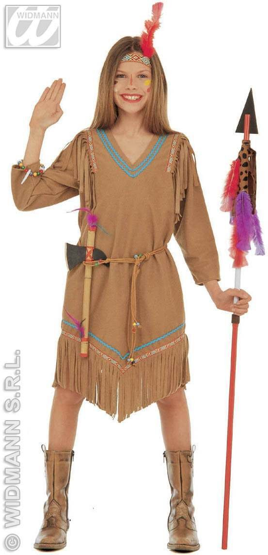 Cheyanne Costume Child 5-7 Fancy Dress Costume Girls
