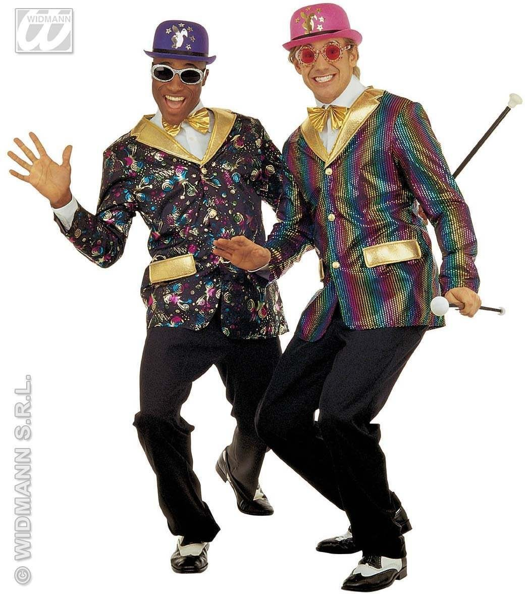 Party Time Jacket/Bow Tie 6Cols Fancy Dress Costume