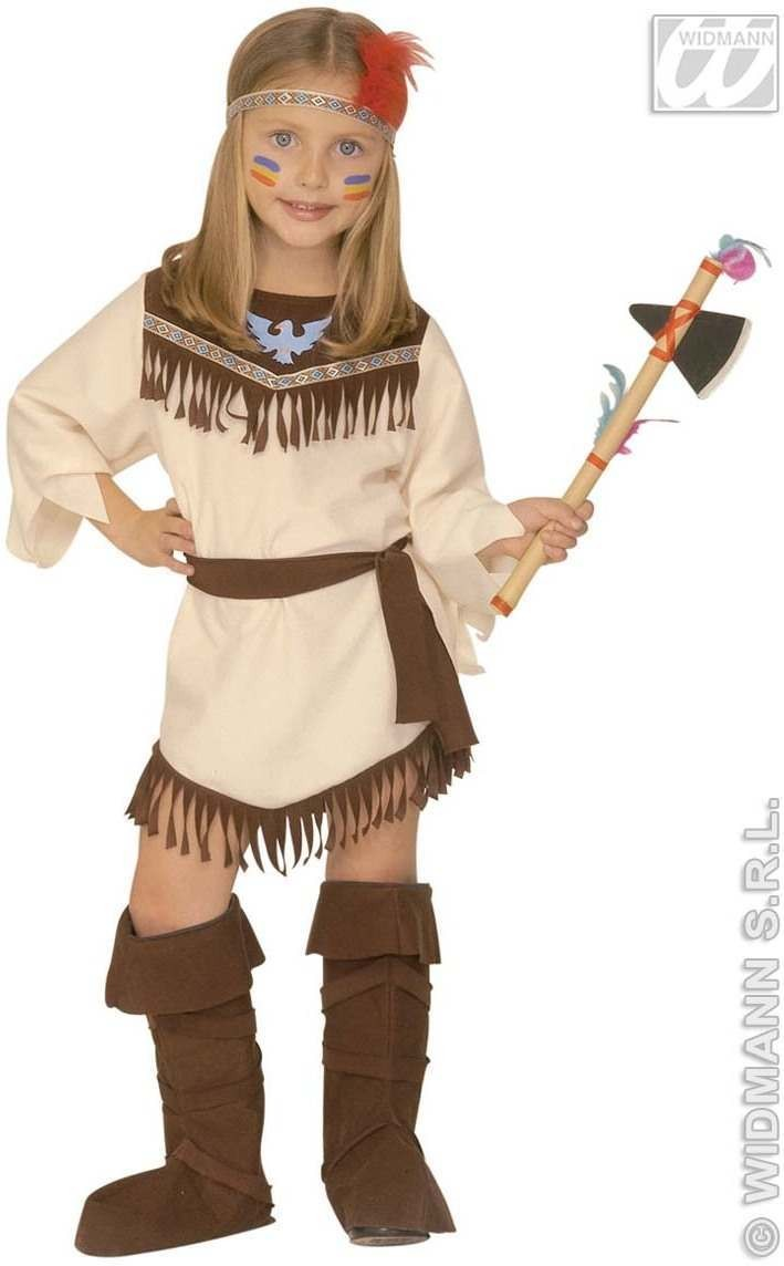 Little Indian Girl Child Costume 3-4 Costume Girls (Cowboys/Indians)