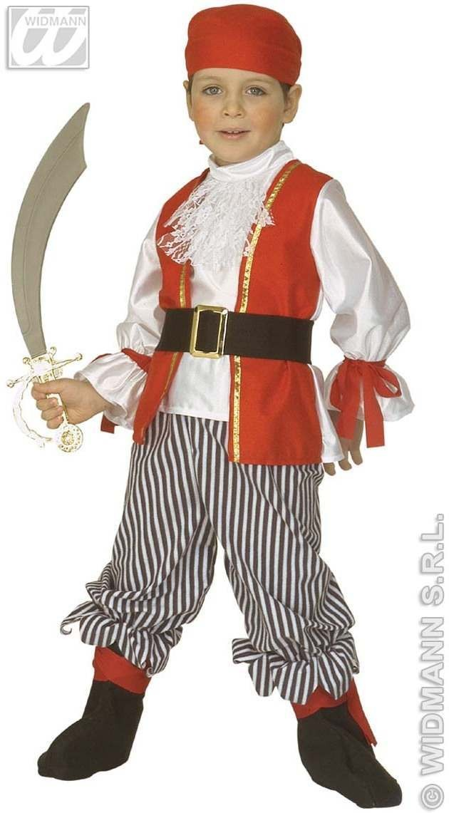 Little Pirate Boy Costume 3-4 Fancy Dress Costume Boys (Pirates)