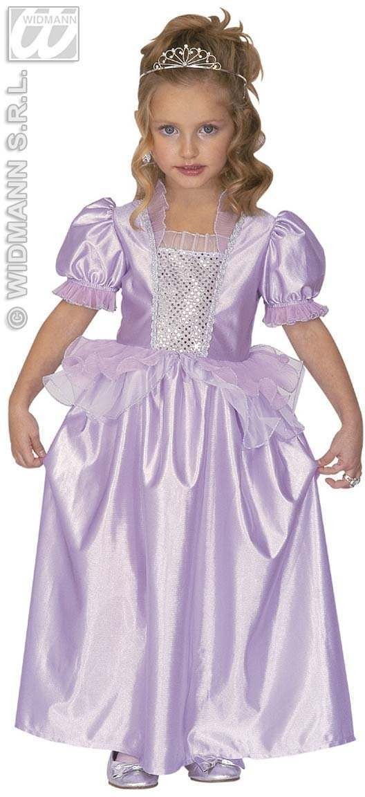 Princess Dress Purple Kids Costume Kids Age 3-4 Girls (Royalty)