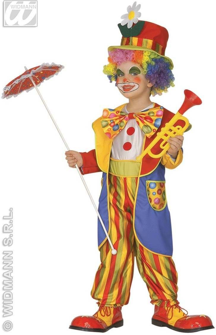 Little Clown Costume Child 3-4 Fancy Dress Costume Boys (Clowns)