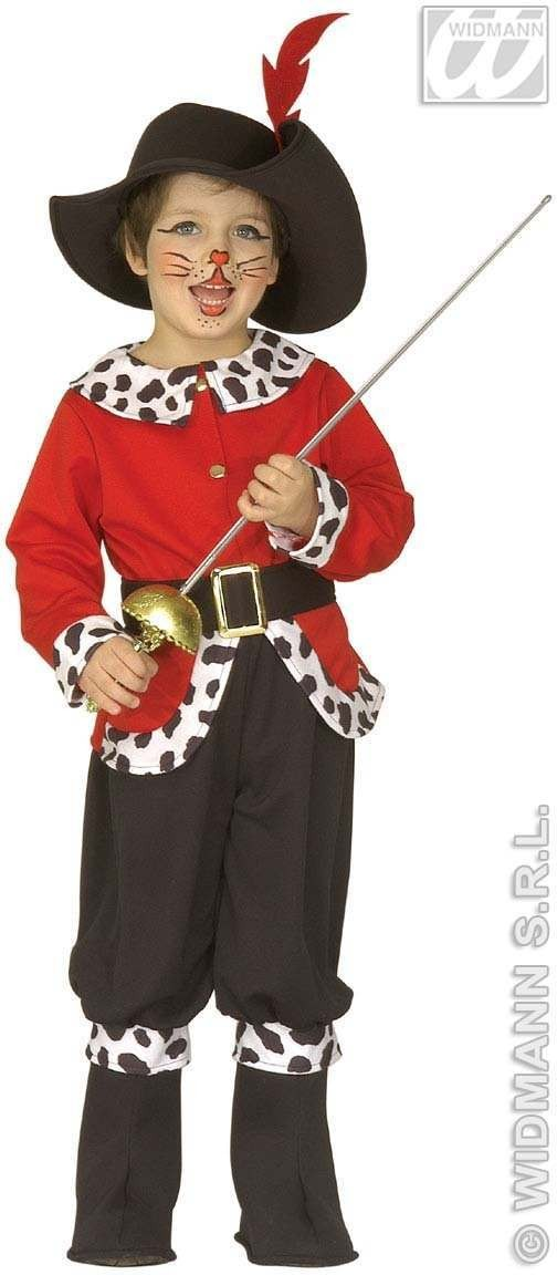 Little Storybook Cat Costume Child 3-4 Costume Boys (Fairy Tales)
