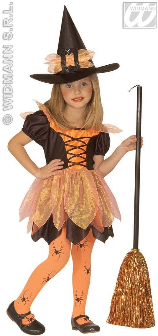 Little Pretty Witch Costume Child 4-5 Costume Girls (Halloween)