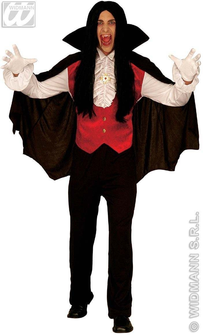 Count Dracula Adult Costume Costume Mens Size 42-44 L (Halloween)