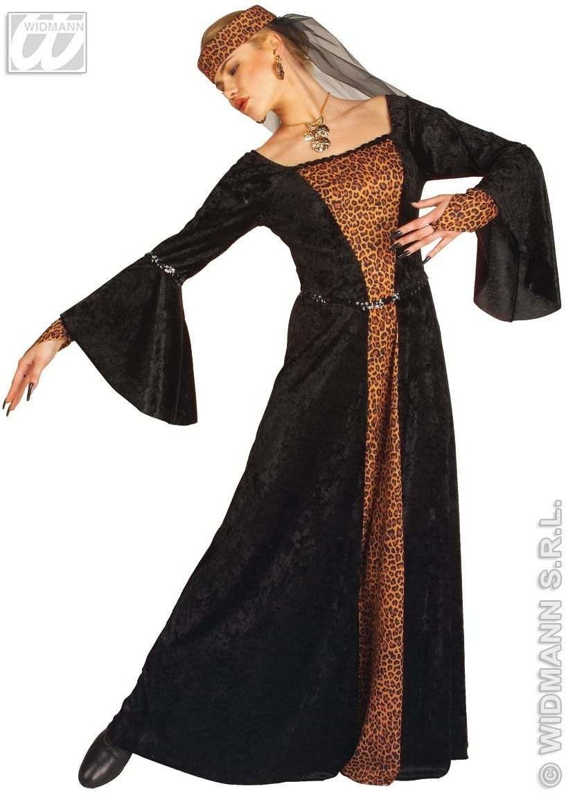 Madame Bovary Adult Fancy Dress Costume Ladies (Renaissance)