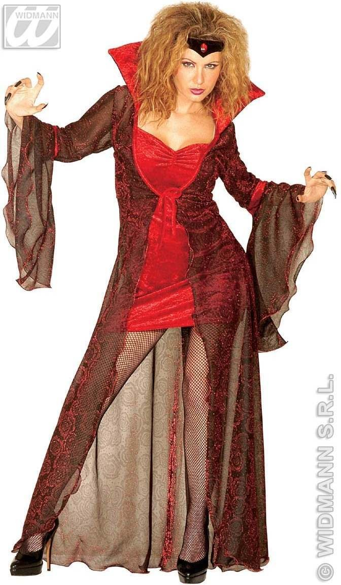 Mystic Mistress Adult Costume Velvet Costume Ladies (Halloween)