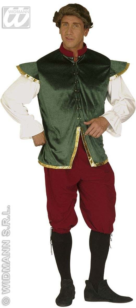 Romeo Adult Fancy Dress Costume Mens (Medieval)