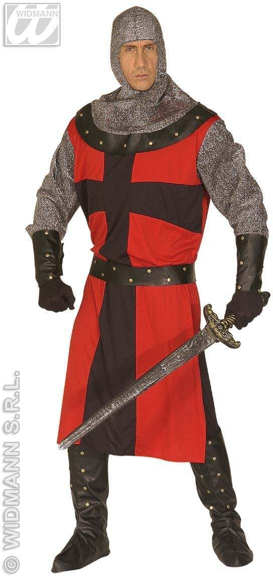 Dark Age Knight Adult Fancy Dress Costume Mens (Medieval)