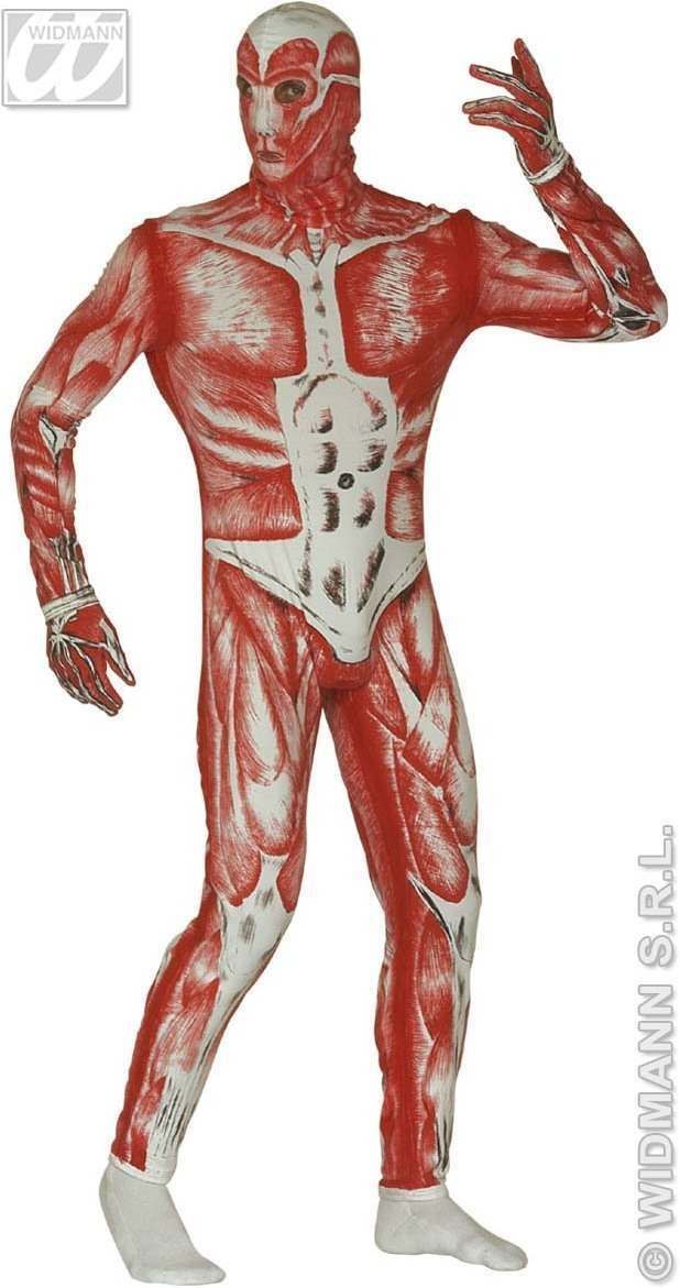 Skinned Alive Costume Costume Mens Size 42-44 L
