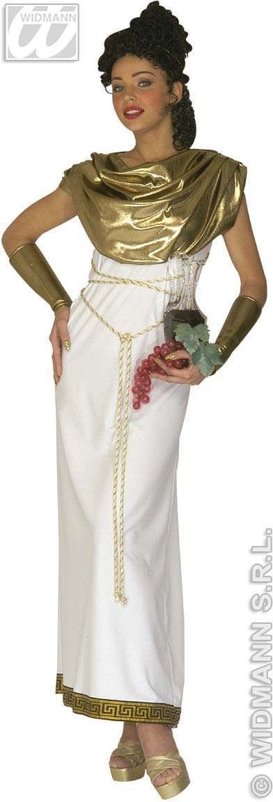 Greek Goddess Adult Fancy Dress Costume Ladies (Greek)