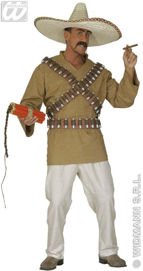 Mexican Adult Fancy Dress Costume Mens (Cultures)