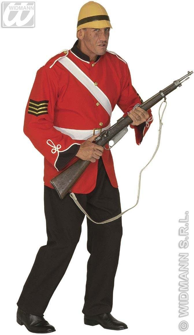 British Soldier Adult Fancy Dress Costume Mens (Army)