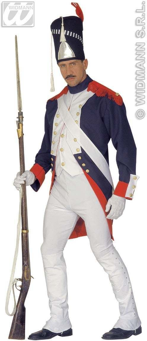 Grenadier De La Garde Fancy Dress Costume Mens