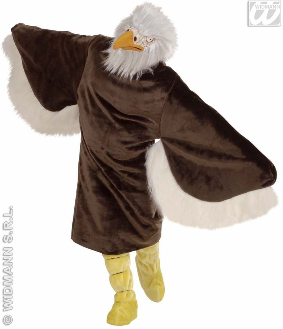 Plush Eagle Costume Adult Fancy Dress Costume (Animals)