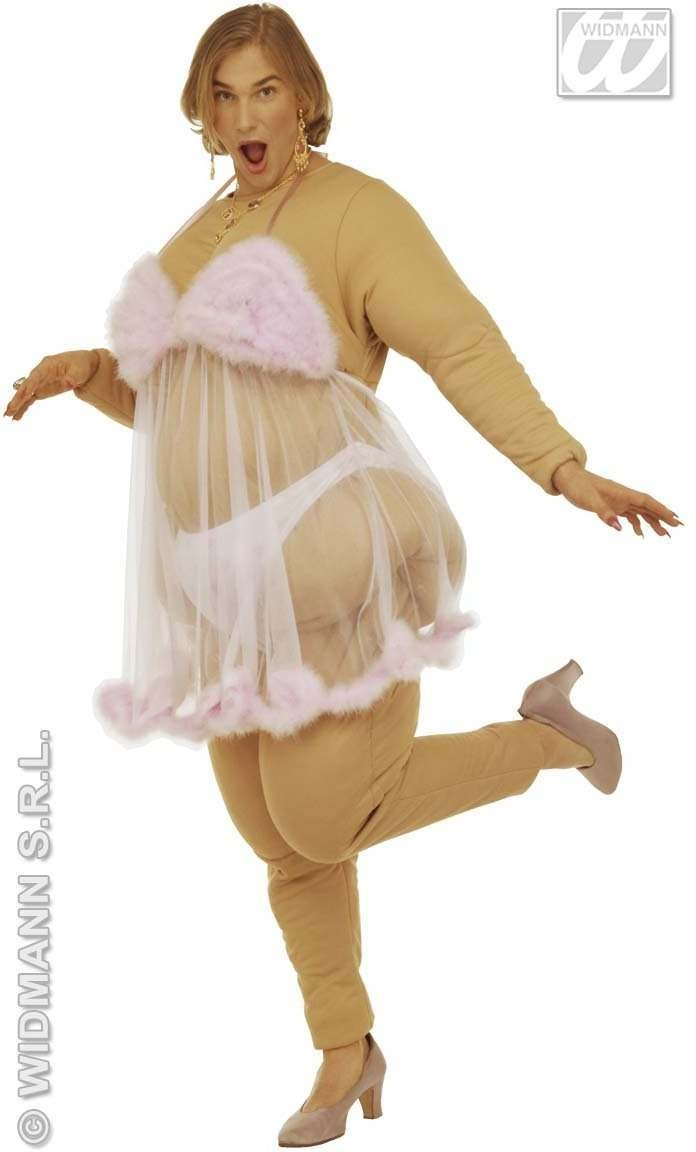 Strip Club Beauty  Beige Costume Mens Size 40-44 M