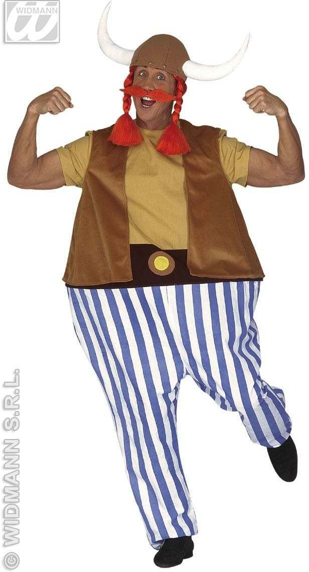 Fat Gaul Costume W/Hoop Costume Mens Size 40-44 M