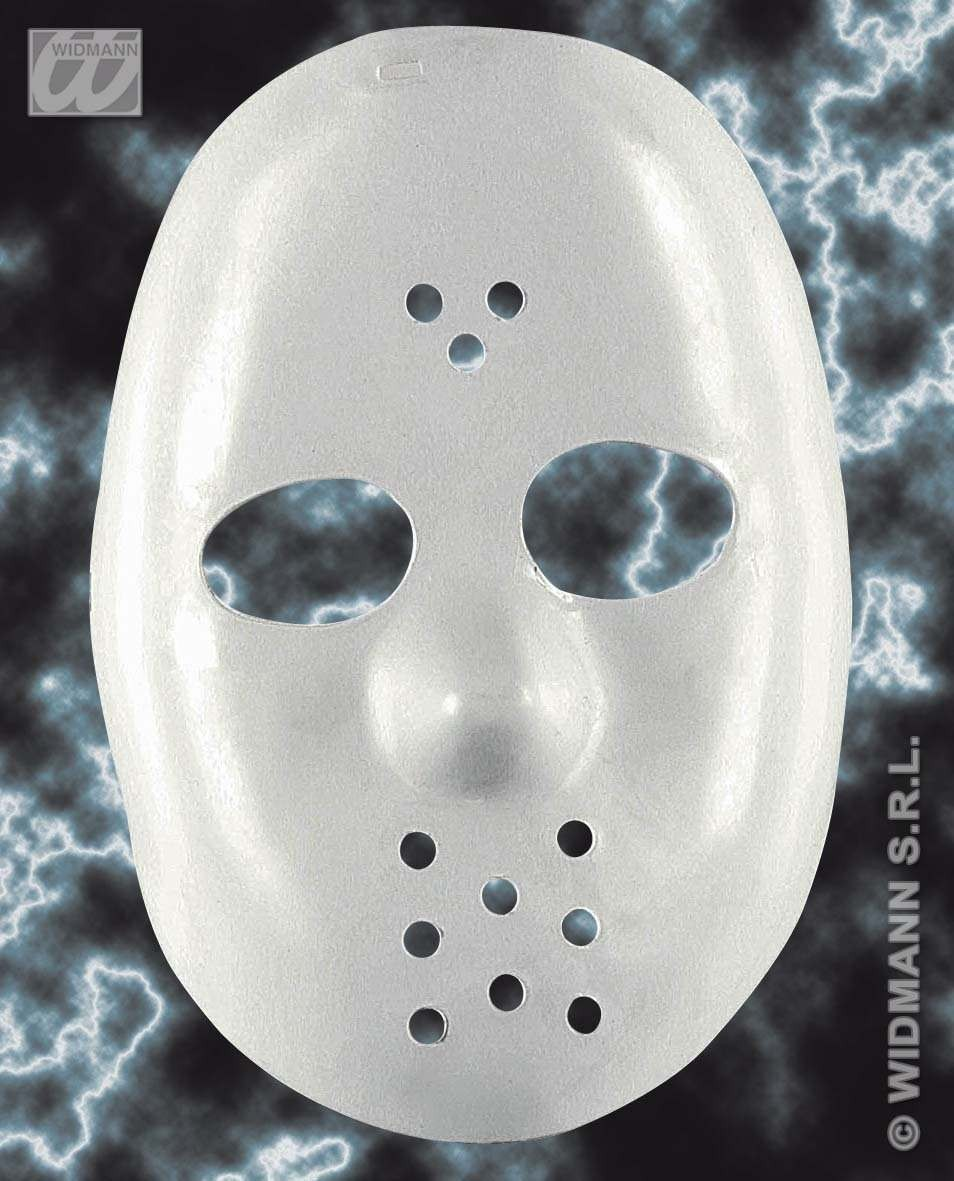 Hockey Mask White Widmann - Fancy Dress