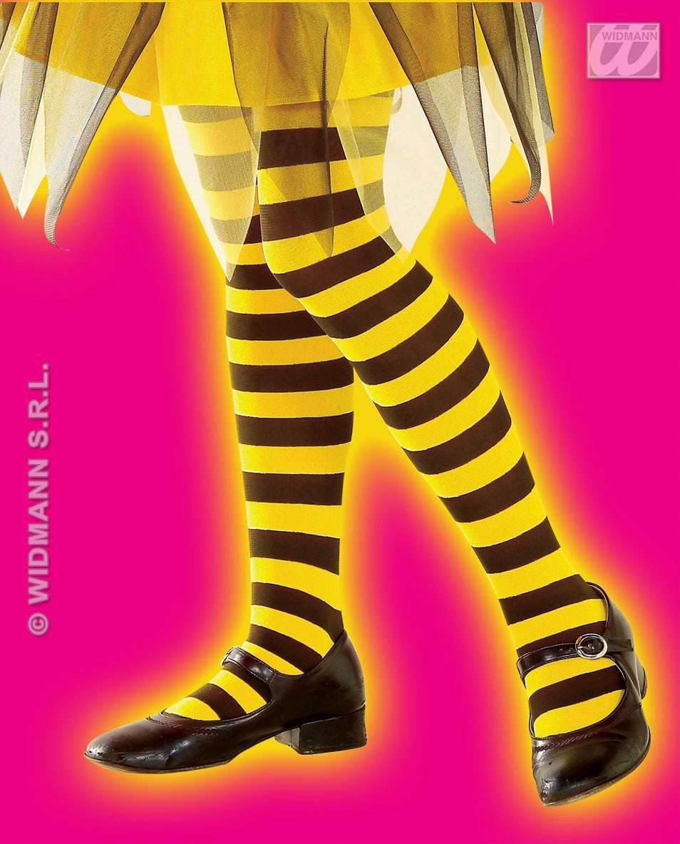 Bee Pantyhose For Girls - Fancy Dress