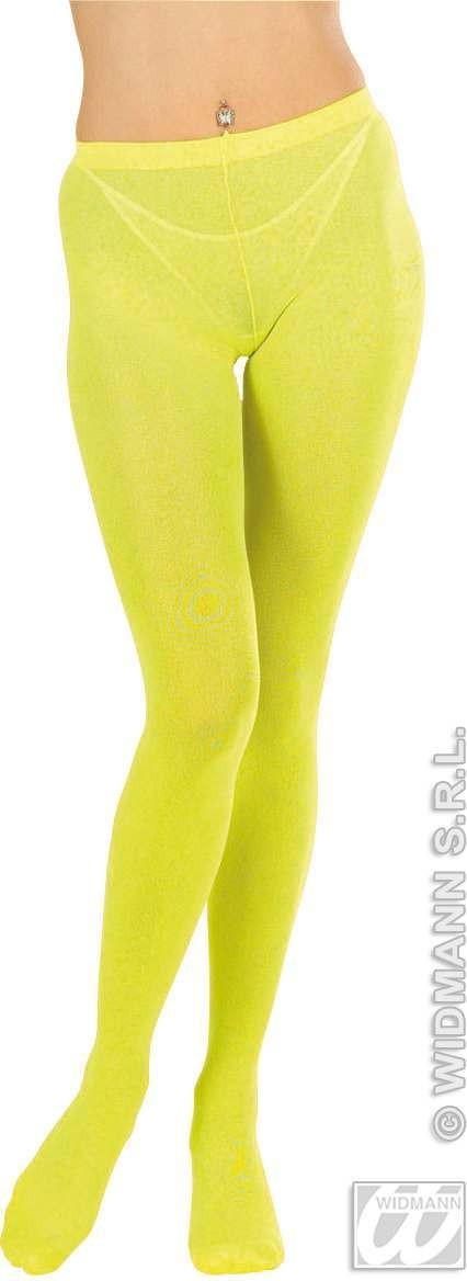 Xl Pantyhose Neon 4Cols - Fancy Dress