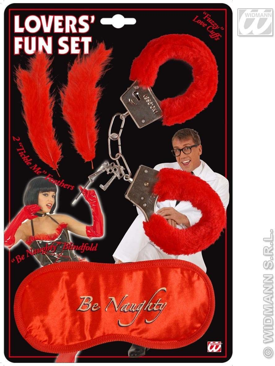 Lovers Fun Set W/Blindfold - Fancy Dress