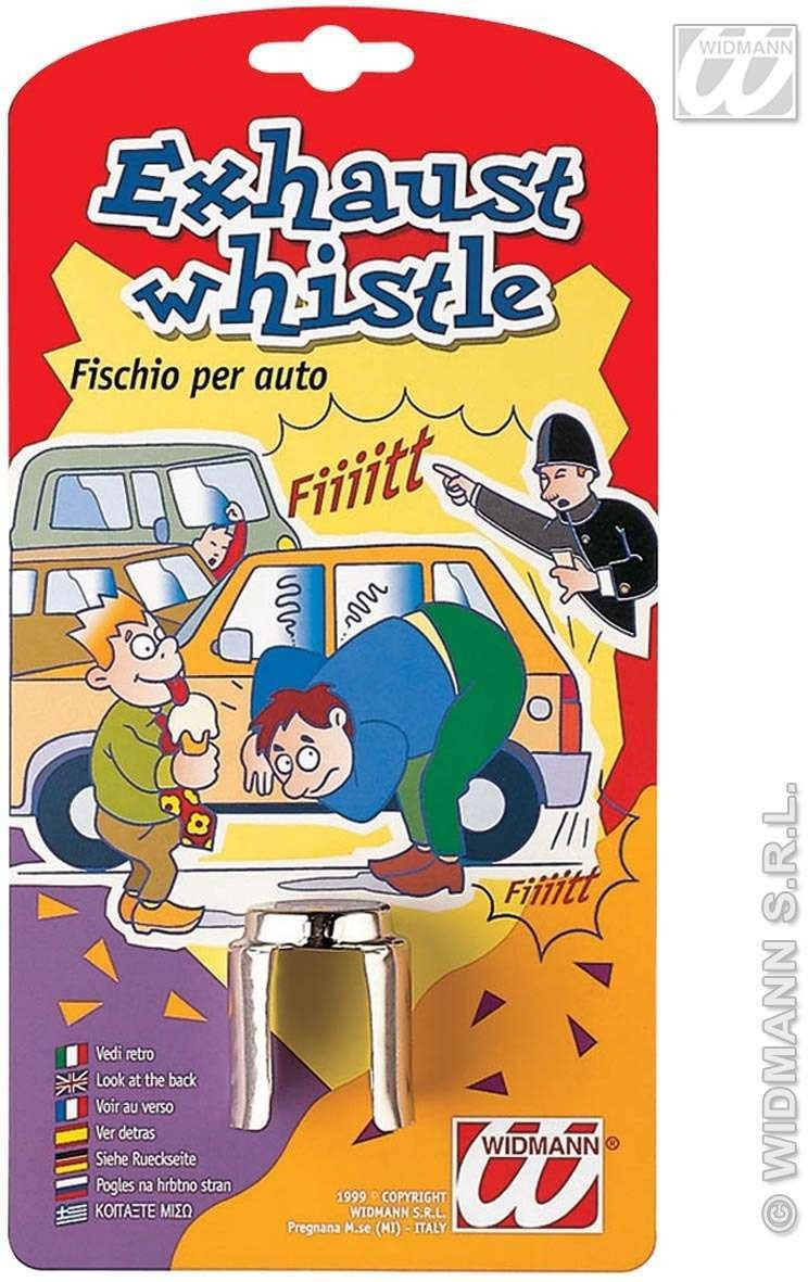 Joke Exhaust Whistle - Fancy Dress
